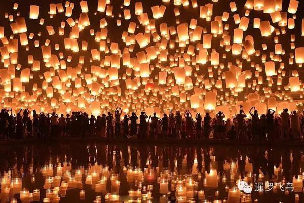 注意:泰国清迈天灯不可乱放!小心被罚款坐牢