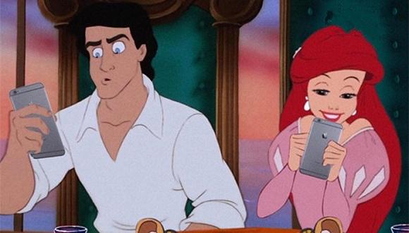 迪士尼的公主们长大后的真实生活是 吵架 黑眼圈 整容 组图