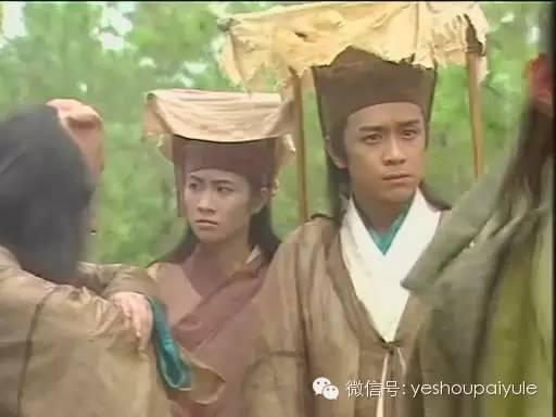 还初尝古装剧,在《封神榜之爱子情深》里,叶璇和陈浩民擦出火花,两人图片