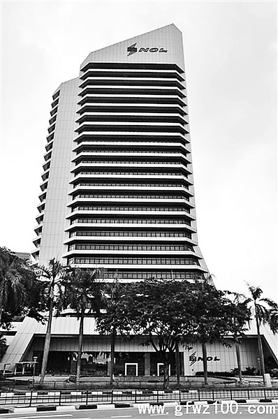 """""""汪辜会谈""""的旧址――新加坡海皇大厦"""