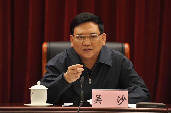 委_广州市委原常委吴沙接受组织调查,上月底卸任市委政法