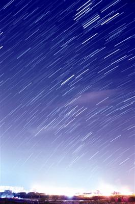 繁星夜空唯美大图图片