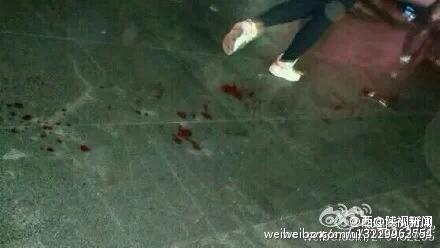 网曝西安文理学院学生揭穿小偷 被捅3刀当场休克