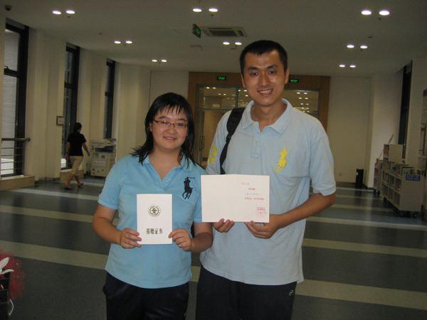 李宏烨和老婆兼伙伴郑钰