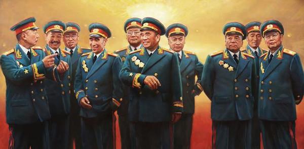 十大元帅的后代都是什么军衔