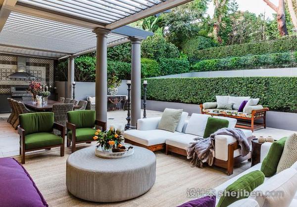 60款超美的庭院设计效果图图片