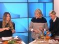 《艾伦秀第13季片花》S13E44 玛莎现场烹饪教学 德鲁大喊:太好吃了