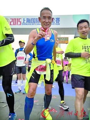 62岁大叔50天跨3大洲跑7个马拉松 根本停不下来