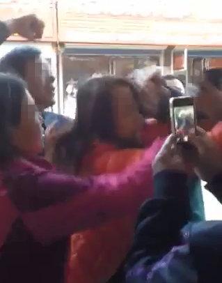 辽宁绥中县扶贫办干部被曝打人 官方:已停职