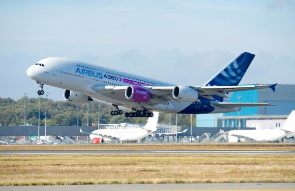 部分3d打印,瑞达xwb-97发动机已随空客a380首飞图片