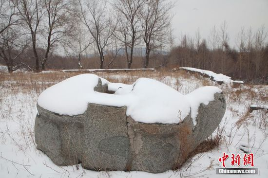 长春辽金大将墓地遭破坏 千年石龟用来烤肉喝酒