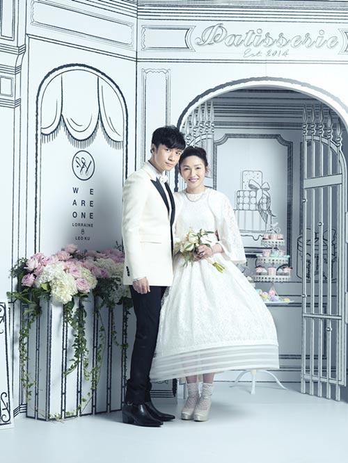 古巨基婚礼现场照曝光刘翔苏有朋等担任兄弟