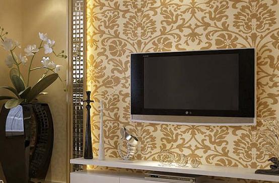 小户型面积客厅电视背景墙装修效果图,简单大方的布置设计,帮你打造出