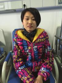 陈春梅在病院医治。