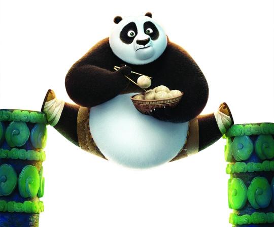梦工厂CEO 功夫熊猫3 特别做了中文版高清图片