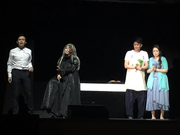 李晔出演大型舞台剧《资源v资源》并担任男森林微信上怎么找电影主角迅雷下载图片
