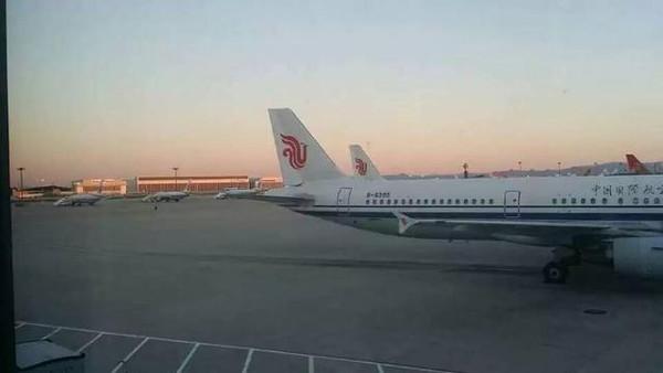 终于登上了 3u8420大航班!等待起飞!