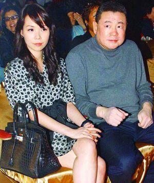 刘銮雄与女友吕丽君