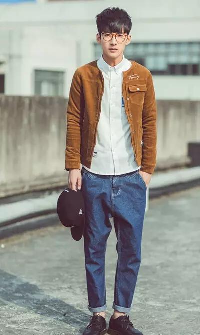 男士牛仔裤搭配,帅爆了