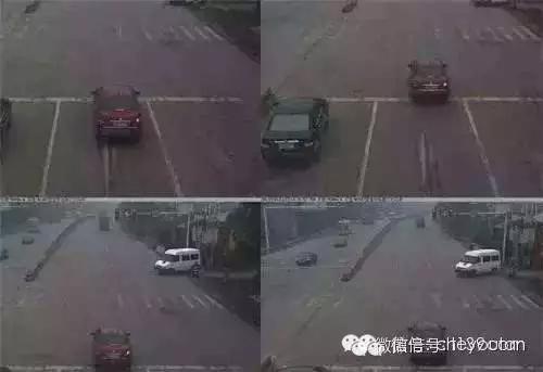 事实:车辆经过红灯路时不管有没有越线电子眼都会拍下第一张
