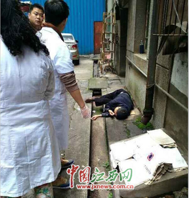 男子打死妻子后跳楼 给儿子留下遗书(图)
