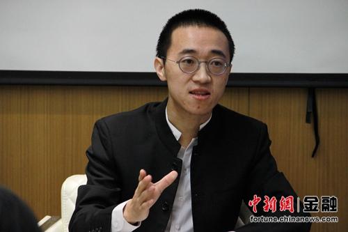 紫马财行创始人兼CEO唐学庆接受媒体专访。