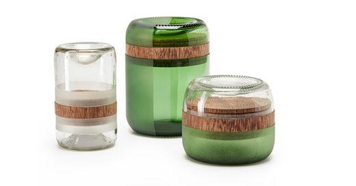 玻璃瓶子的浪费就是其中比较严重的一个问题.