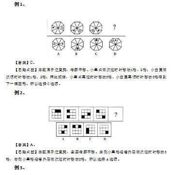图形推理位置类解题技巧(一)