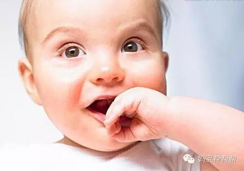 正常婴儿口腔结构图