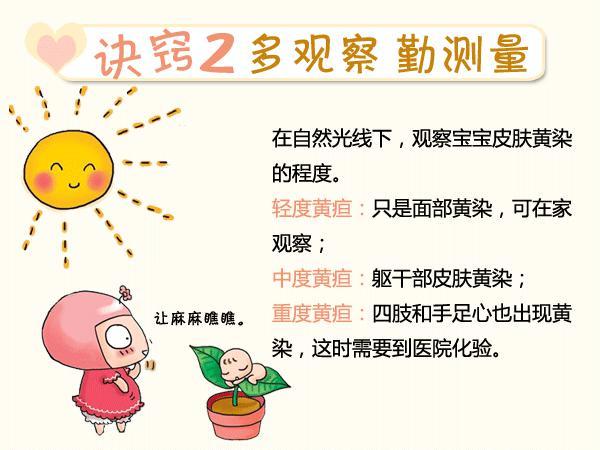 科普贴:不要简单以为新生儿出现黄疸是正常现象