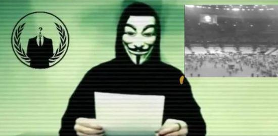 匿名者宣战极端组织