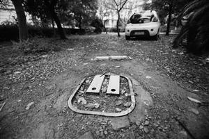 宁波一小区车位争夺战打5年 业主毁绿化装地锁