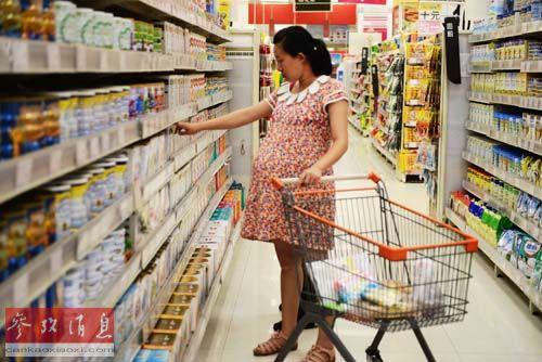 配方奶粉和婴儿食物是最受国家网民欢送的外洋产物。(材料图像)
