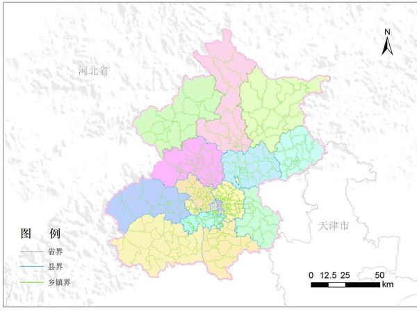 山东省栅格地图