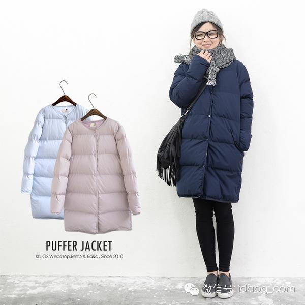 冬天棉衣如何穿才时尚图片