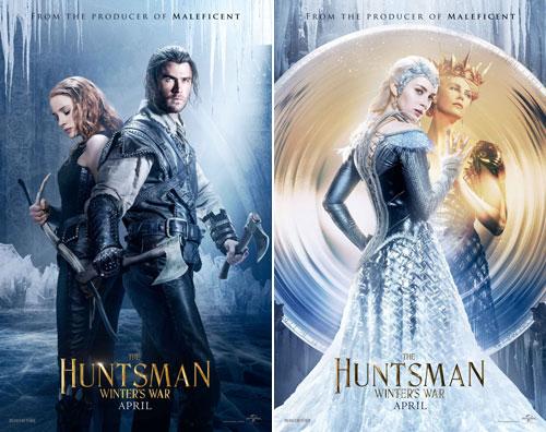 《白雪公主与猎人》续集——《猎人》新海报