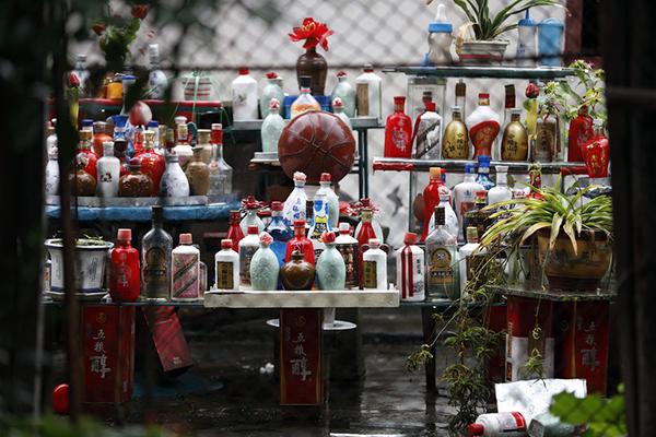 2015年11月17日,矮平房为火灾发生地。15日下午,金山区卫清西路上发生了一起火灾事故,一对八旬老夫妻丧生火海。 澎湃新闻记者 雍凯 图