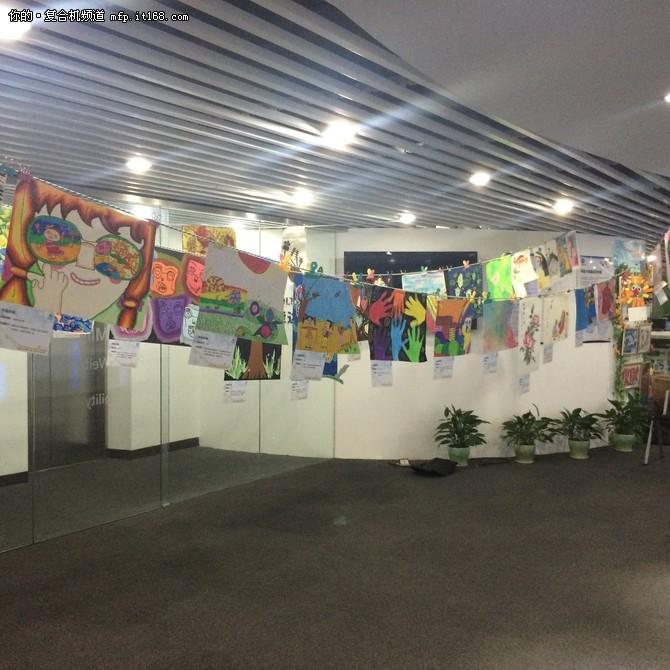 大众投票现场作品展示(柯尼卡美能达商务综合解决方案体验中心)图片