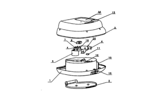 智能家居新专利,或可记录你用水量图片