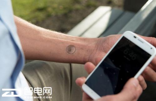 纹身解锁 脚趾头解锁 盘点奇葩的手机解锁方式图片