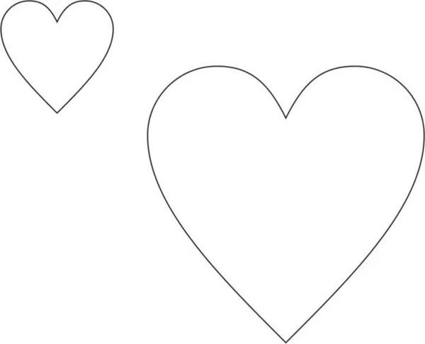 爱心手绘画图片
