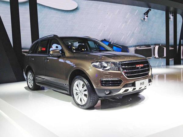 2015年11月20日广州车展上,长城汽车公布了其哈弗h8新增的五款车型