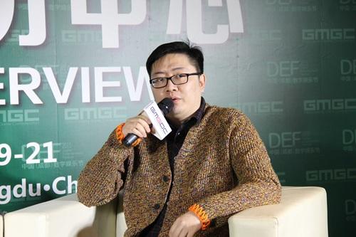 def2015|起点中文网白金作家跳舞专访 奇幻小说作品还是最优游戏ip