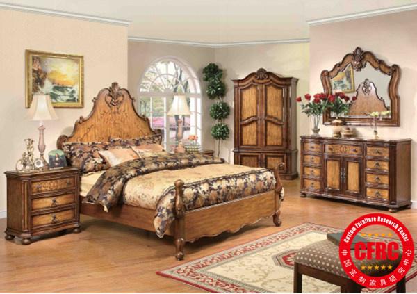仿古风格:美式家具的基础是欧洲文艺复兴后期各国移民所带来的生活