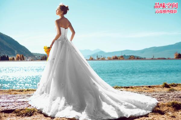 北京婚纱摄影 外景婚纱照美姿图片