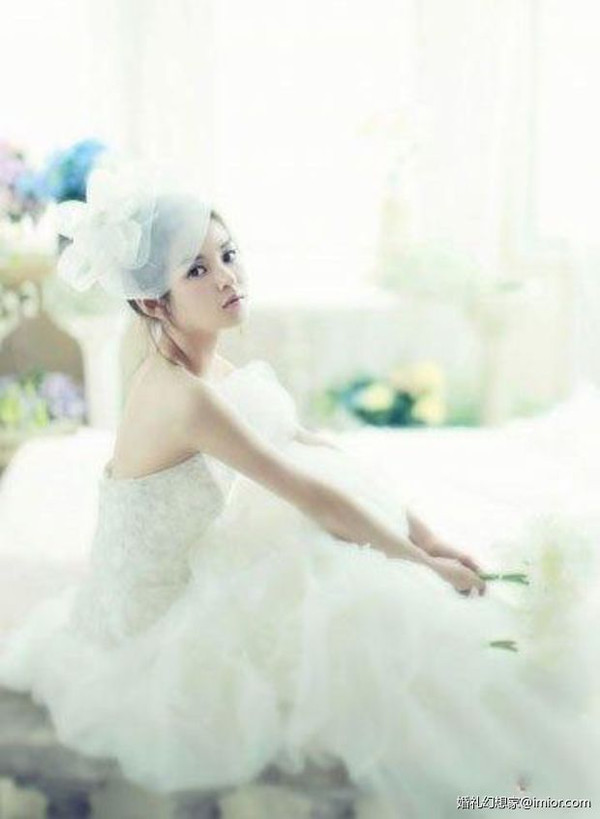 小个女生婚纱_适合小个子女生的婚纱款式