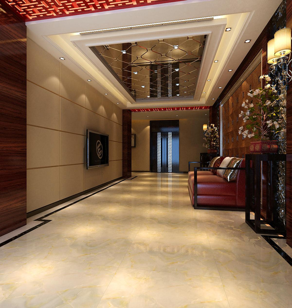 贵阳酒店装饰案例 中式风格软装设计