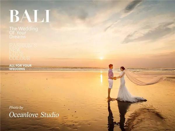 oceanlove巴厘岛蜜月婚纱照赏析