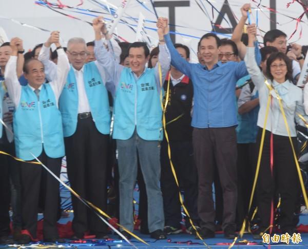 马英九22日列席百姓党121周年党庆庆贺流动