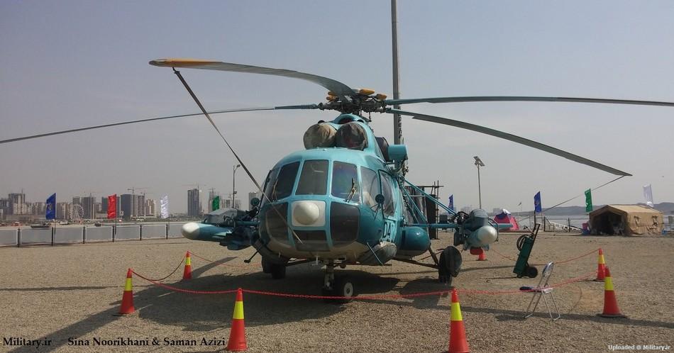 其中,比较吸引人注意的是一款反舰型米-17直升机,该机加挂了两枚120图片